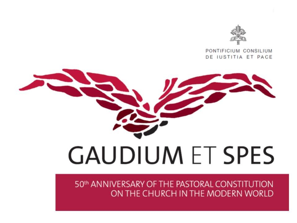 50th Anniversary of Gaudium et Spes (Rome, 5-6 November 2015)
