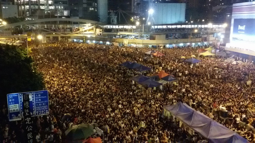 Justice and Peace: Occupy Central increases the dignity and political consciousness of Hong Kong