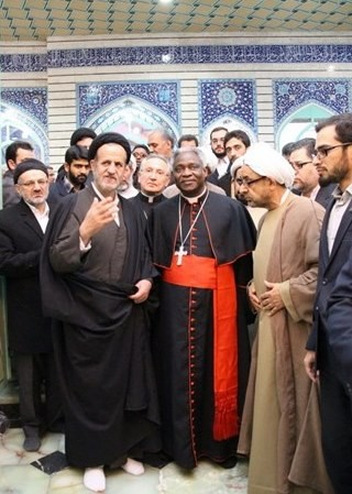 Cardinal Turkson in Iran, 6 February 2016